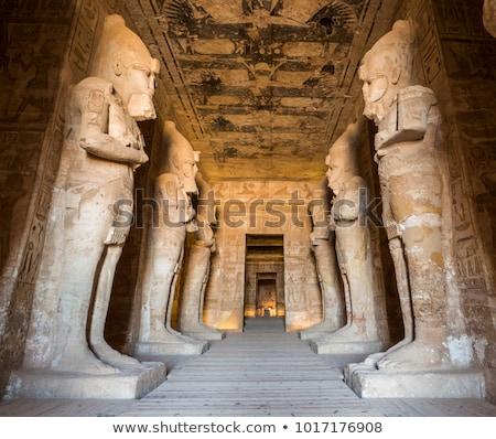 Templom Egyiptom épület sivatag kő Afrika Stock fotó © frank11