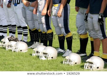 Futebol jogadores esportes homens faculdade quente Foto stock © vladacanon