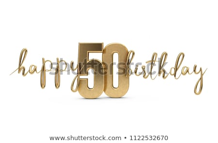 50th Birthday Stock photo © dehooks