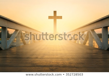 крест веры иллюстрация Пасху Сток-фото © vectomart