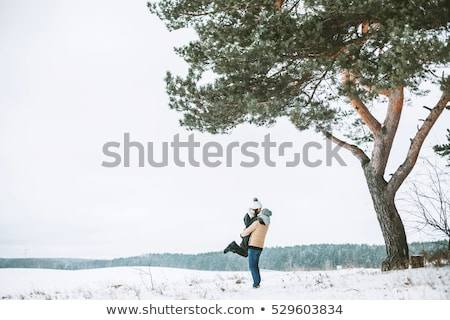 Couple walking outside on a winter's day Stock photo © photography33