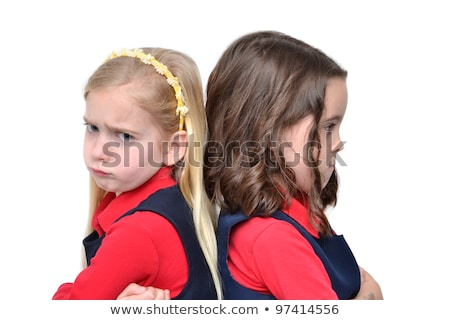 two angry kids posing together Stock photo © photography33