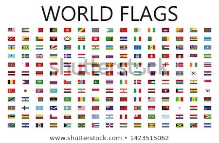 африканских континент стране флагами флаг Африка Сток-фото © ajlber