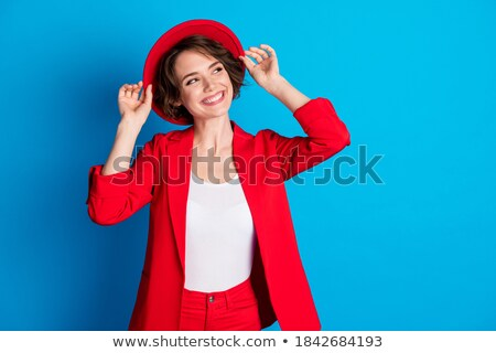 Traveling beautiful businesswoman stock photo © photosebia