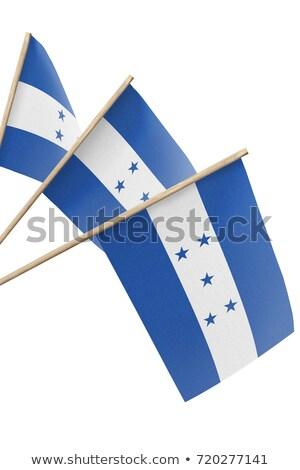Miniature Flag of Honduras (Isolated) Stock photo © bosphorus