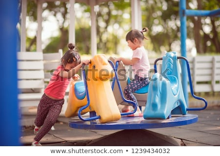 merry go round 2 stock photo © tdoes