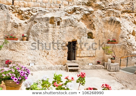 Foto stock: Tomb Garden Jerusalem