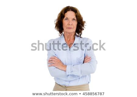 Stern woman Stock photo © photography33