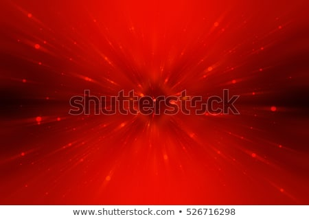 abstract red background with white stars stock photo © marinini