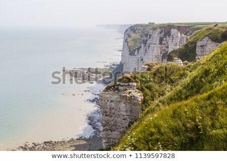 Strand Frankrijk noorden zee frans kustlijn Stockfoto © pkirillov
