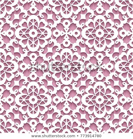 borduurwerk · traditioneel · patroon · decoratief · vector - stockfoto © creative_stock