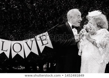adam · damat · zarif · düğün · takım · elbise · gün - stok fotoğraf © zittto