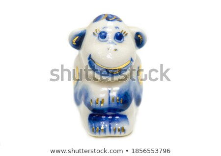 ape figurine Stock photo © zkruger