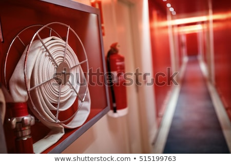 fire hose safety equipment stock photo © bigjohn36