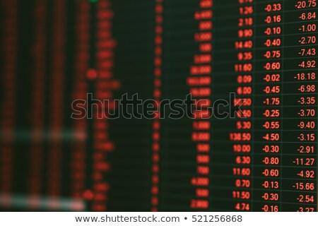 asia financial crisis stock photo © lightsource
