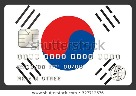 buying with credit card in south korea Stock photo © vepar5