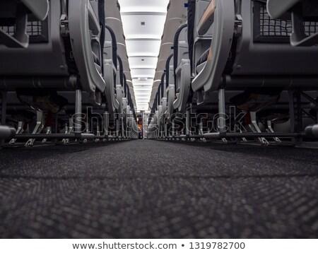 Vloer vliegtuig cabine gangpad Stockfoto © kyolshin