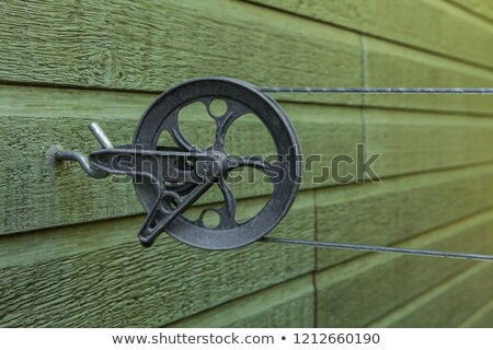 Clothesline Pulley Stock photo © AlphaBaby