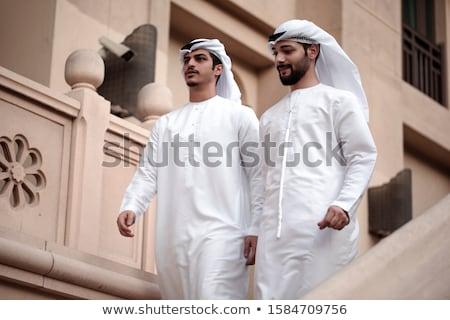 Two Downtown Adult Men Stock photo © eldadcarin