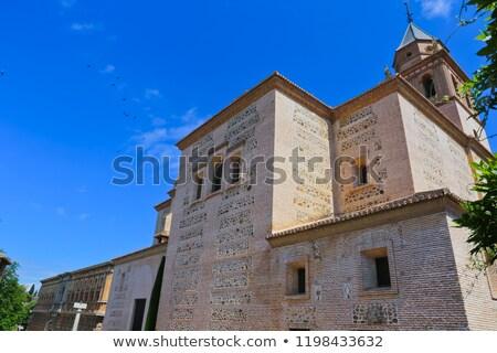 教会 アルハンブラ宮殿 サイト モスク アーキテクチャ ストックフォト © aladin66