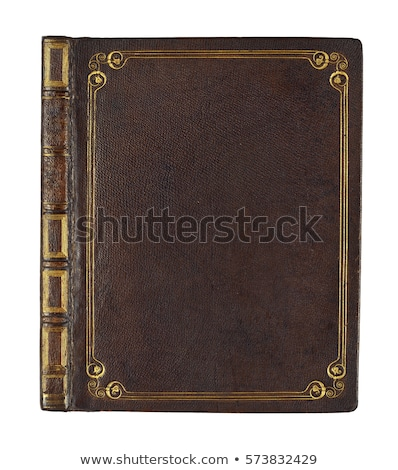 brown leather book cover Stock photo © PixelsAway