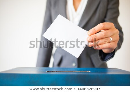 Ballot box Slovakia Stock photo © Ustofre9