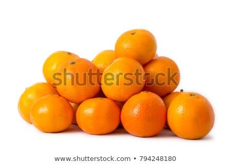 апельсинов белый продовольствие фон плодов Сток-фото © c-foto