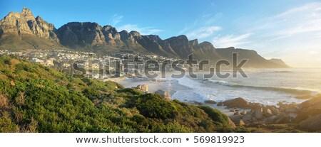 Twelve Apostles and Camps Bay Stock photo © dirkr