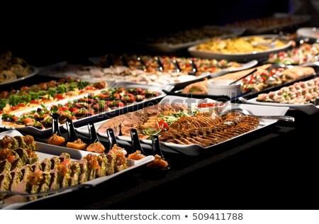 dine at the various buffet  Stock photo © Farina6000