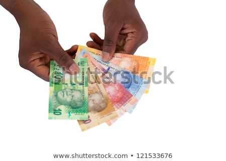 South African, New Bank Notes Stock photo © Vividrange