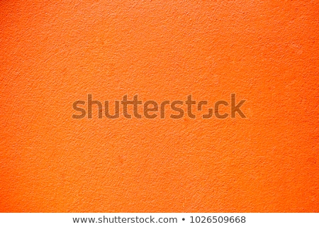 structured plaster, orange wall texture Stock photo © Kayco