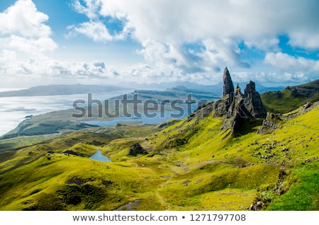the old man of storr stock photo © franky242