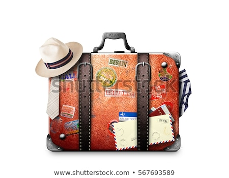 Old Traveled Bag Stock photo © idesign