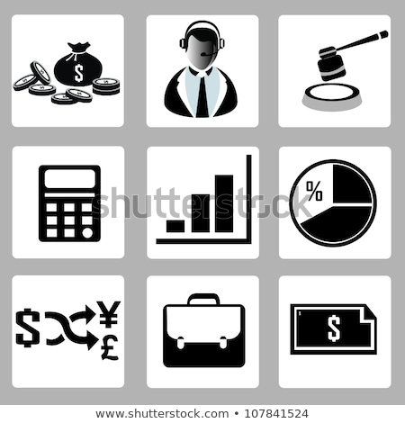 ikonok · illusztráció · különböző · színek · szett · háttér - stock fotó © absenta