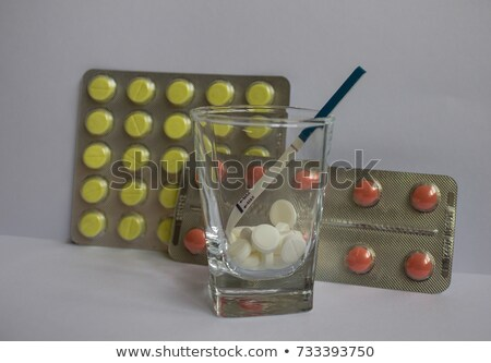 Cure for  Infertility - Pack of Pills. Stock photo © tashatuvango