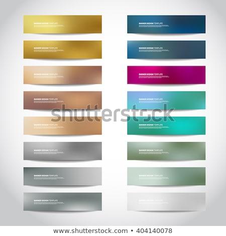 web · design · desenvolvimento · bandeira · trabalhando · teia - foto stock © davidarts