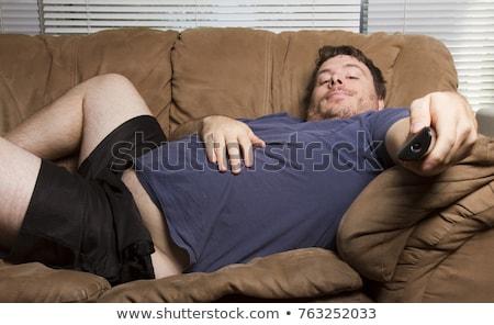 Lazy man Stock photo © gemenacom