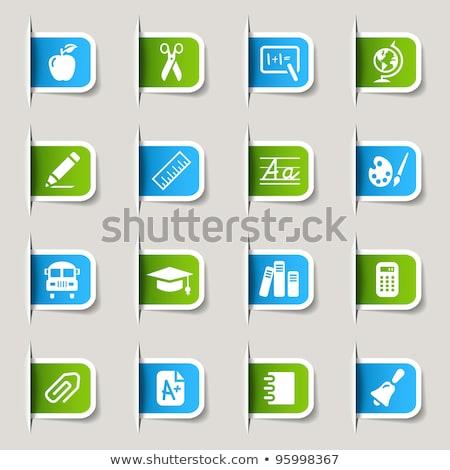 Mathematical Sign Green Vector Icon Button Stock photo © rizwanali3d