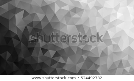 black and white low poly background, vector  Stock photo © beaubelle