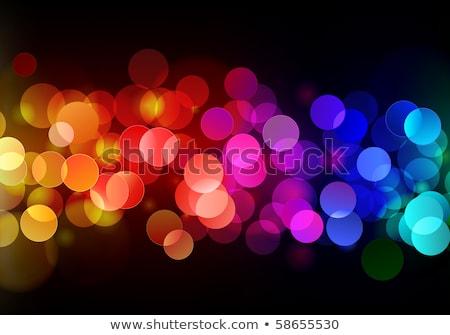 Disco · Lichter · Muster · schwarz · Licht · Design - stock foto © oblachko