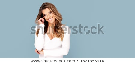 Delicate blonde beauty posing Stock photo © NeonShot