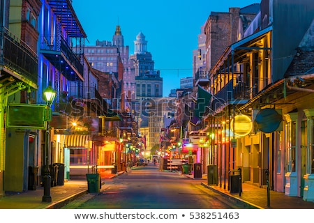bourbon street new orleans stock photo © vividrange