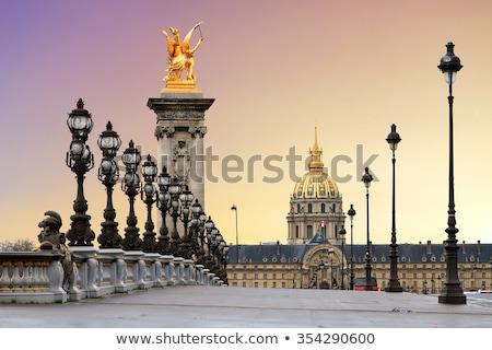 армии · музее · Париж · Франция · облачный · день - Сток-фото © smartin69