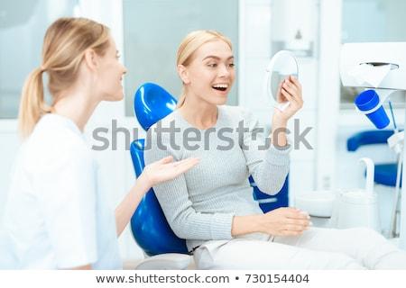anestezi · hasta · solunum · maske · çalışmak · sağlık - stok fotoğraf © wavebreak_media