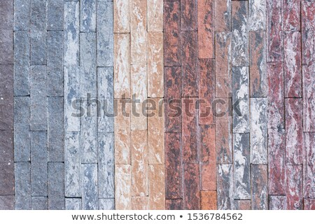 brown tiles of different rectangular shapes stock photo © tashatuvango