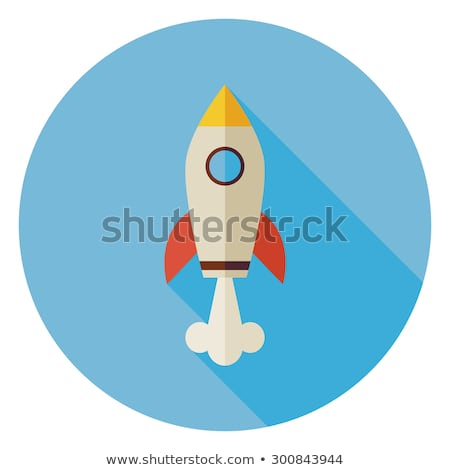 Business Start-up Icon. Concept. Flat Design. Long Shadow. Stock photo © WaD