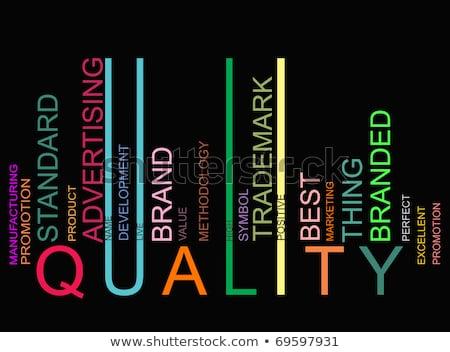 здоровья слово штрих красочный синий Сток-фото © fuzzbones0