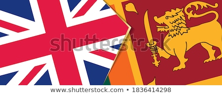 United Kingdom and Sri Lanka Flags Stock photo © Istanbul2009