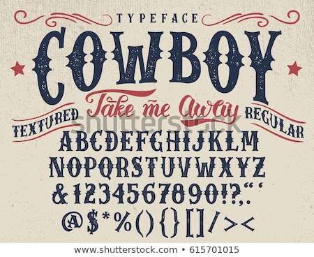 Country and Western Stock photo © Bigalbaloo