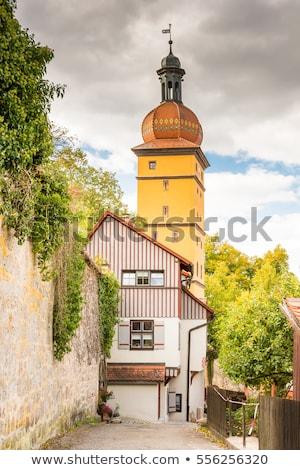 Segringer Tor in Dinkelsbuehl Stock photo © manfredxy